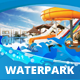 Water Park Theme Trifold Brochure - GraphicRiver Item for Sale