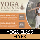 Yoga Flyer Design - GraphicRiver Item for Sale