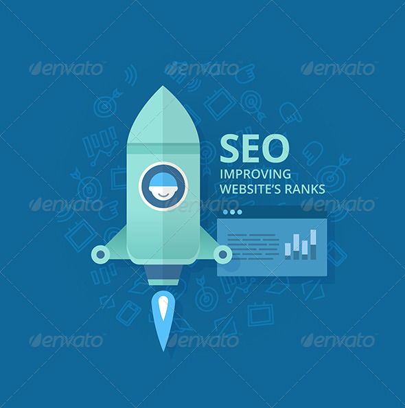 Seo Concept of Website Optimization - Web Technology