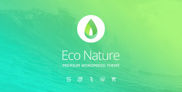 Image of Eco Nature - Environment & Ecology WordPress Theme