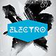 Electro Futuristic Flyer Template PSD - GraphicRiver Item for Sale