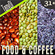 Healthy Food & Coffee Beans | Bundle - GraphicRiver Item for Sale