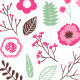 Floral Set - GraphicRiver Item for Sale