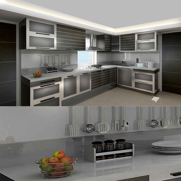 Modern Kitchen Cg Textures 3d Models From 3docean