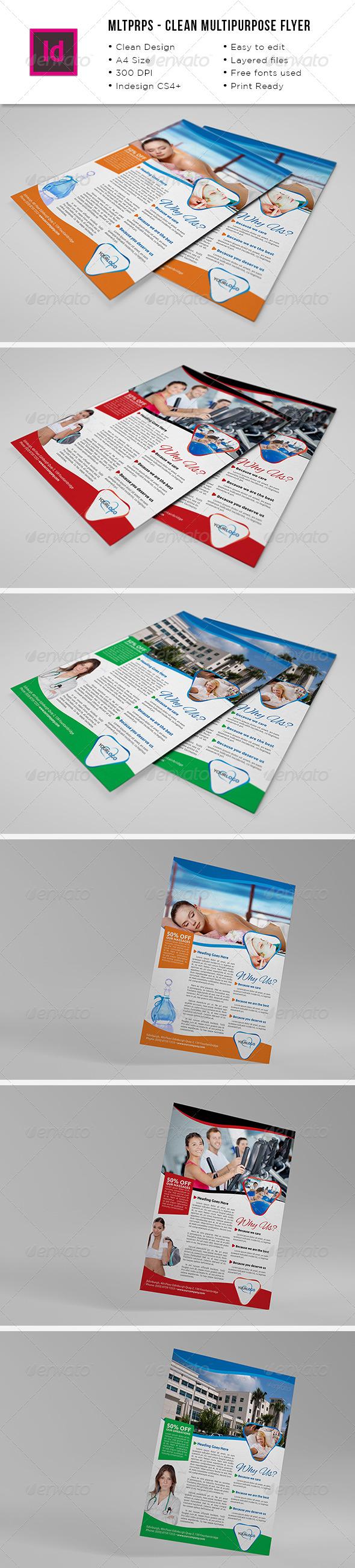 Mltprps - Multipurpose A4 Flyer - Commerce Flyers