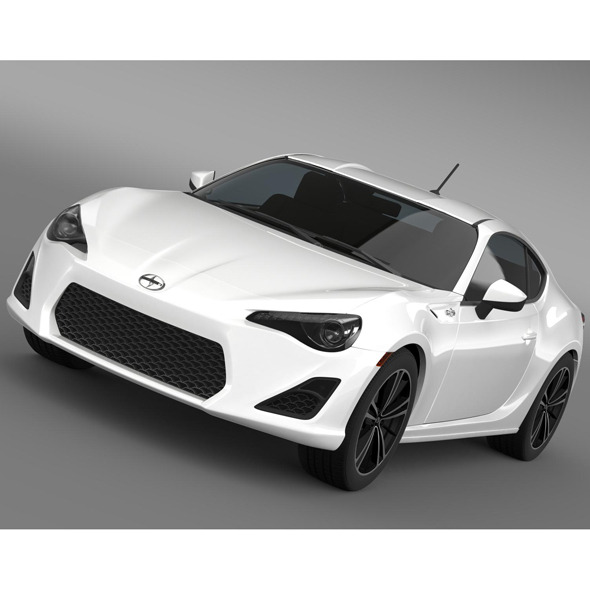 Scion FR S 10 Series 2013 - 3DOcean Item for Sale
