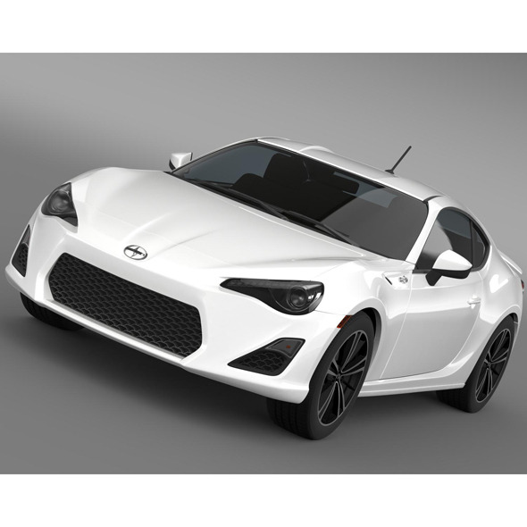 Scion FR S Monogram 2014 - 3DOcean Item for Sale