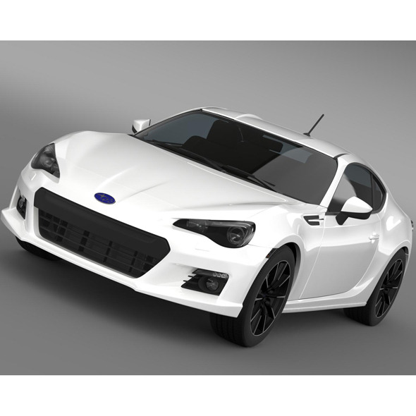 Subaru BRZ 2.0R ZC6 2012 - 3DOcean Item for Sale