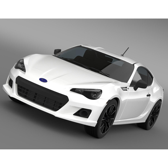 Subaru BRZ 2.0RA ZC6 2012 - 3DOcean Item for Sale