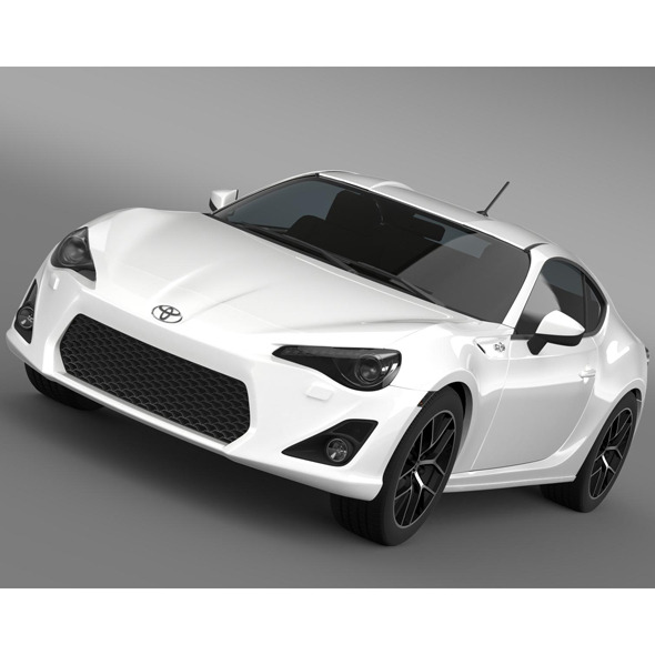 Toyota 86 Prototype 2011 - 3DOcean Item for Sale