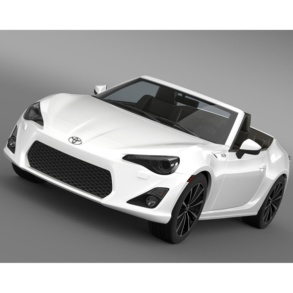 Toyota FT 86 Open Concept 2013 - 3DOcean Item for Sale