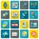 Set of Media Icons - GraphicRiver Item for Sale