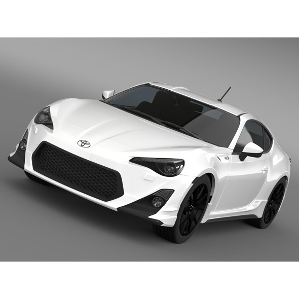 TRD Toyota 86 2013 - 3DOcean Item for Sale