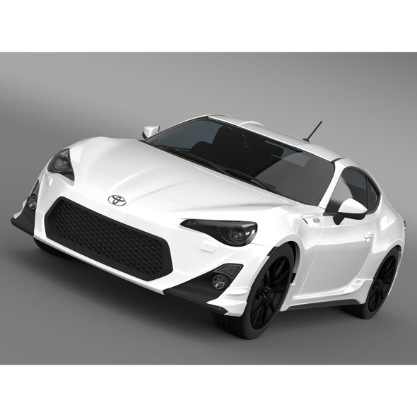 TRD Toyota GT 86 2014 - 3DOcean Item for Sale