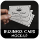 Business Card Mock-Up Vol.2 - GraphicRiver Item for Sale