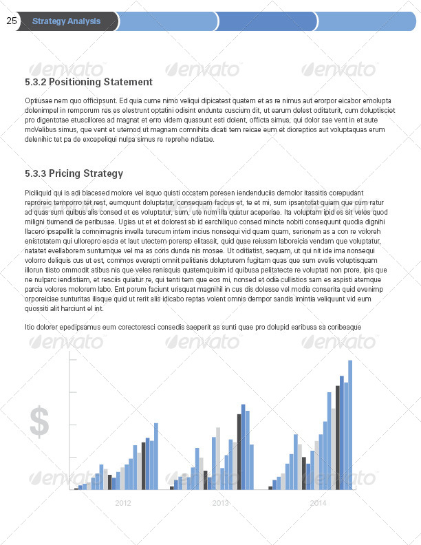 42 pages business plan template by sthalassinos graphicriver 42 pages business plan template accmission