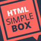 Simple Box - One Page Multi-Purpose HTML Theme - ThemeForest Item for Sale
