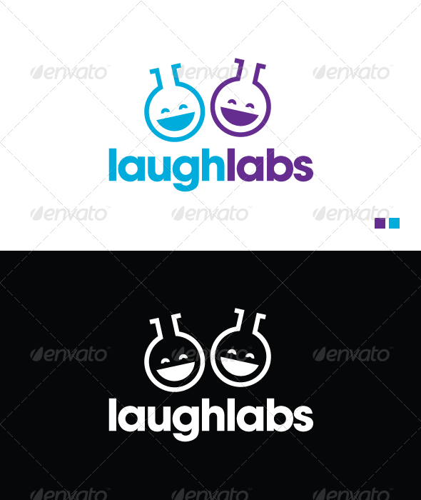 Laugh Labs - Logo Template - Objects Logo Templates