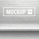 12 One-Piece Shelf Mockups Set - GraphicRiver Item for Sale