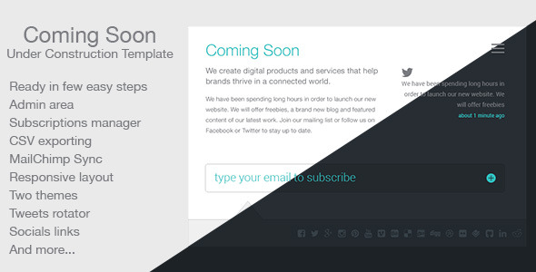 Free Download Coming Soon Nulled Latest Version