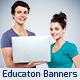 Education Banner Set Vol.1 - GraphicRiver Item for Sale