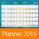 Year Planner - GraphicRiver Item for Sale