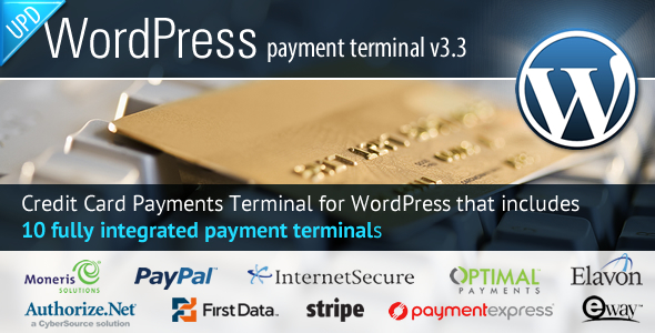 Credit Card Payments WordPress