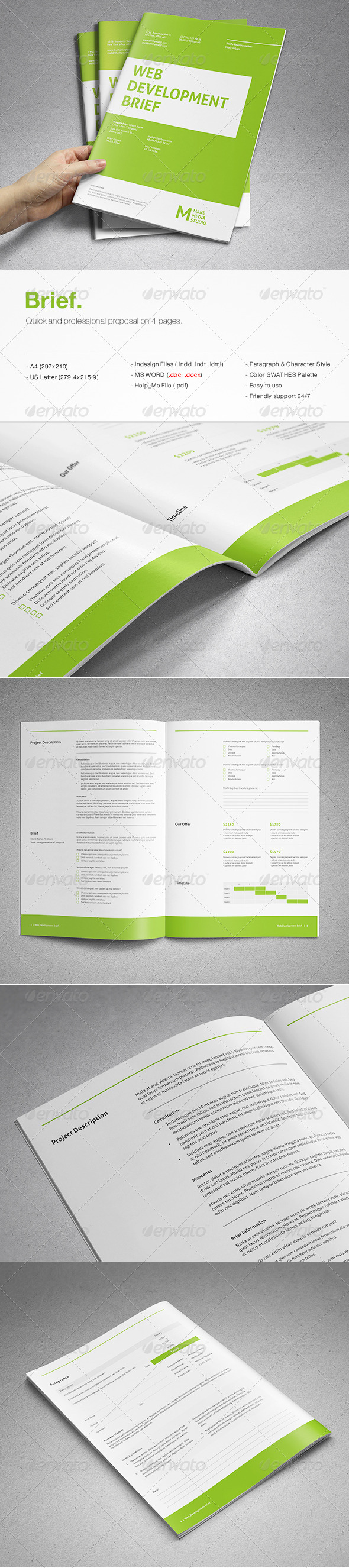 Brief - Proposals & Invoices Stationery