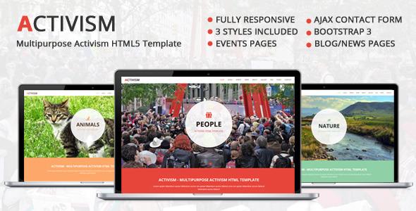 Activism - Multipurpose Activism HTML5 Template - Activism Nonprofit