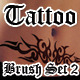 Tribal Tattoo Brush Set 2 - GraphicRiver Item for Sale