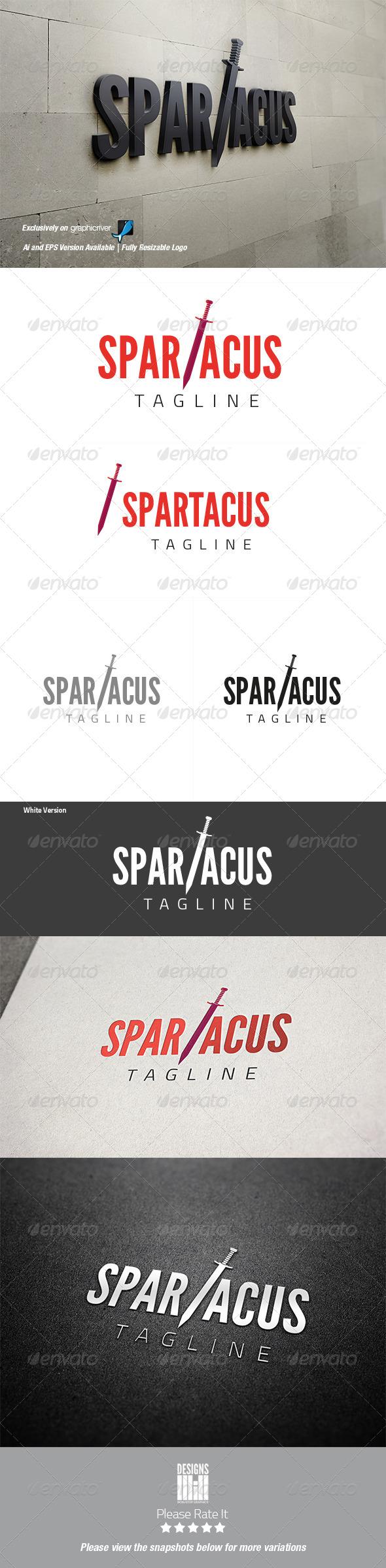 Spartacus Logo - Abstract Logo Templates
