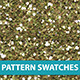 10 Sparkle Glitter Pattern Swatches Vector