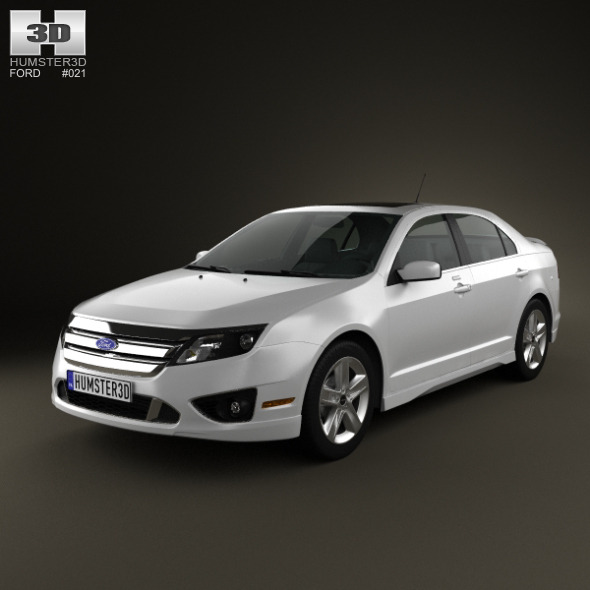 Ford Fusion Sport 2010 - 3DOcean Item for Sale