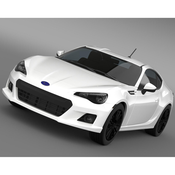 Subaru BRZ Premium Sport Package ZC6 2013 - 3DOcean Item for Sale