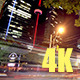 Night Traffic in Downtown Toronto 4K - VideoHive Item for Sale