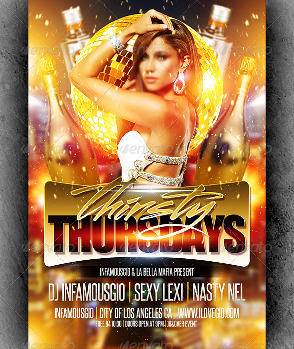 Thirsty Thursdays 4 - Clubs & Parties Events