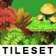 Platform Game Tileset 11 HD: Magic Forest - GraphicRiver Item for Sale