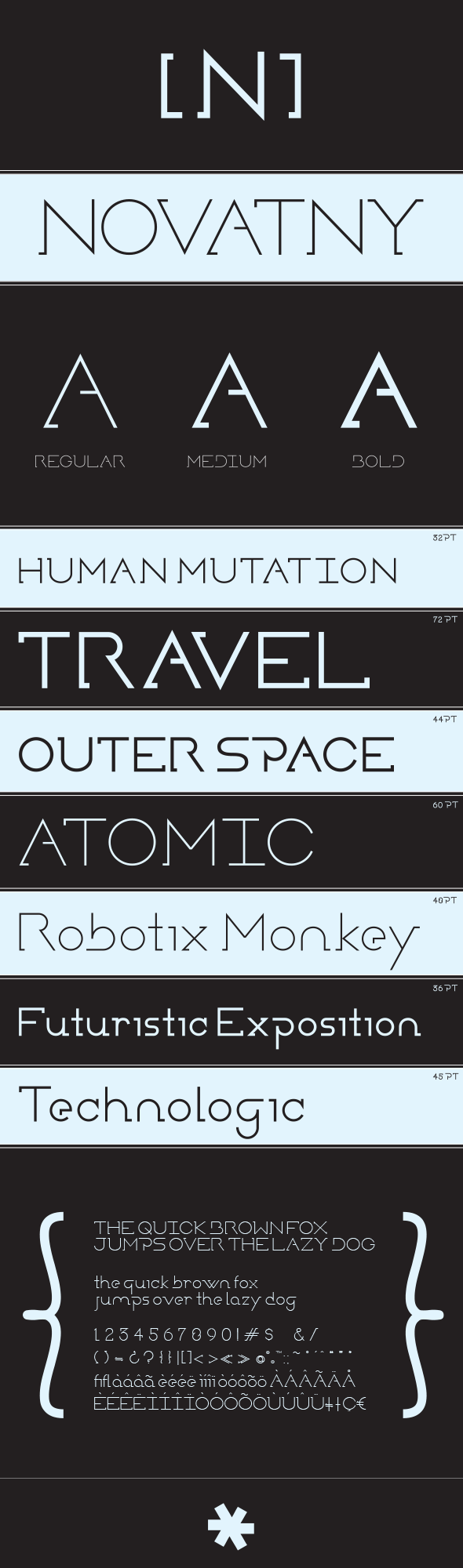Novatny - Sans-Serif Fonts