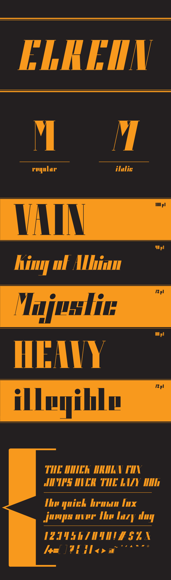 Elreon - Serif Fonts