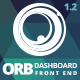 ORB - Powerful Admin Dashboard + FrontEnd Nulled