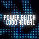 Power Glitch Logo Reveal - VideoHive Item for Sale