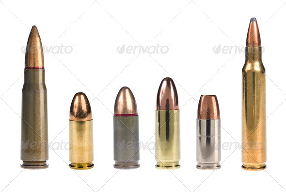 Assorted bullets - Stock Photo - Images