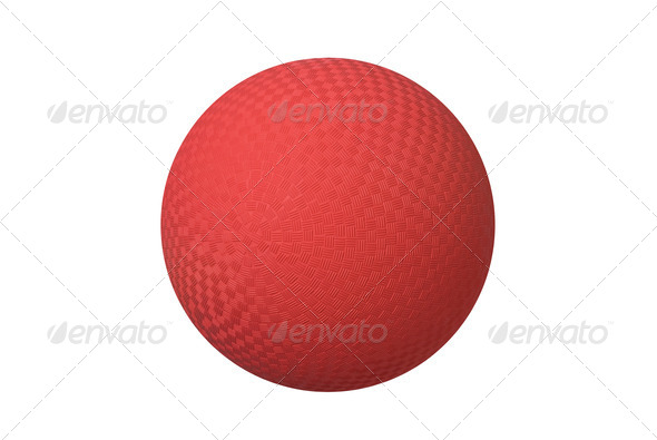 Dodge ball - Stock Photo - Images