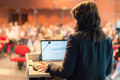 Business woman lecturing at Conference. - PhotoDune Item for Sale