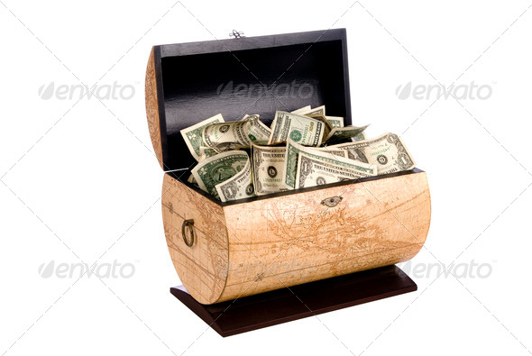 Cash box - Stock Photo - Images