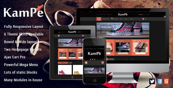 SM Kampe – Responsive Magento Theme
