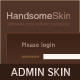 Handsome Admin Skin Nulled