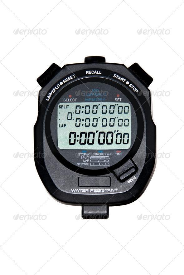 Digital Stopwatch - Stock Photo - Images