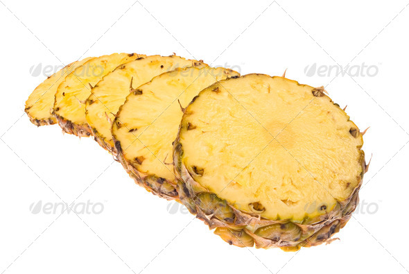 Sliced pineapple - Stock Photo - Images