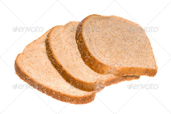 Bread slices - Stock Photo - Images